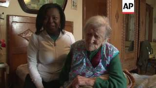 Download At 116, Italian woman now world's oldest person Video