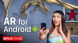 Download Android Tips – Cool AR Apps – DIY in 5 Ep 60 Video