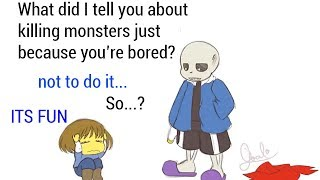 Download If ONLY Frisk Had Followed Sans' Advice (Undertale Animation & Comic Dub Compilation) Video