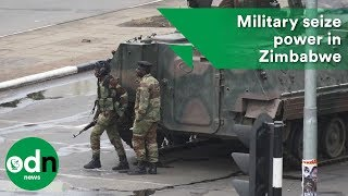 Download Military seize power in Zimbabwe Video