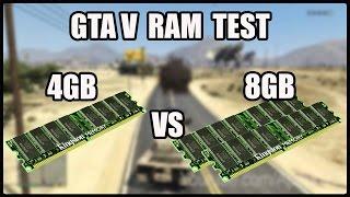 Download Gta V RAM Test 4gb DDR3 1333mhz vs 8gb DDR3 1333mhz Video