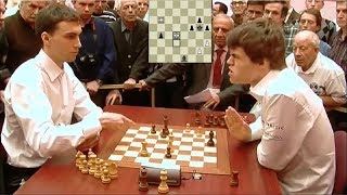 Download SHOCKING TOUCH MOVE BLUNDER! MAGNUS CARLSEN LOSES TO BORIS SAVCHENKO | WORLD BLITZ CHAMPIONSHIP 2010 Video