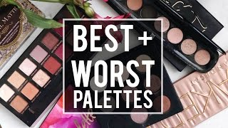 Download 5 BEST + 5 WORST: EYESHADOW PALETTES | WHAT'S HOT OR NOT?! |JamiePaigeBeauty Video