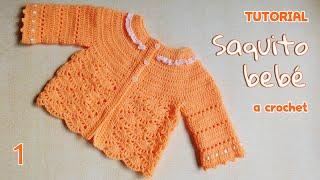 Download Como tejer saco y chaleco bebe a crochet (1/3) Video