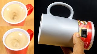 Download How To Make Self Stirring Mug In Simple Way Video