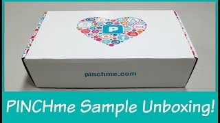 Download PINCHme - Unboxing FREE Samples! Video