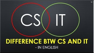 Download Difference btw Computer Science and Information Technology | CS VS IT Video