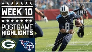 Download Packers vs. Titans | NFL Week 10 Game Highlights Video