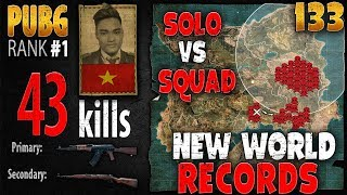 Download [Eng Sub] PUBG Rank 1 - Rip113 - 43 kills [AS] Solo vs Squad - PLAYERUNKNOWN'S BATTLEGROUNDS #133 Video