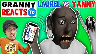 Download GRANNY REACTS 2 ″YANNY or LAUREL″ while playing FORTNITE (FGTEEV SLENDRINA SKIT) Video