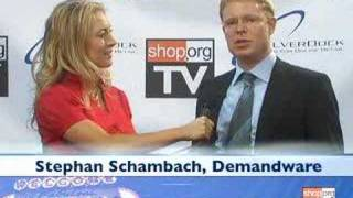 Download Stephan Schambach of Demandware speaks with Shop.org TV Video