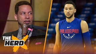 Download Chris Broussard on the 76ers struggling and its impact on LeBron's next move | NBA | THE HERD Video