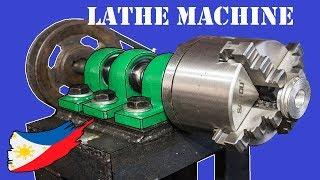 Download DIY Metal Lathe Machine Without Using a Lathe Machine Video