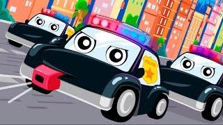 Download Мультики про полицейские машинки - Мультик песня! Видео для детей Анимашка Учим цвета . Video