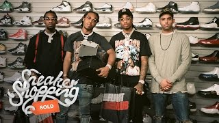 Download Migos Goes Sneaker Shopping with Complex Video