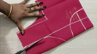 Download Model blouse back neck design cutting and stitching /blouse designs Video