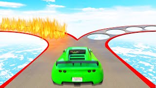 Download Which ROUTE Is The SAFEST?! (GTA 5 Funny Moments) Video