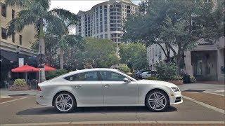 Download Driving Downtown - Sarasota Florida USA Video