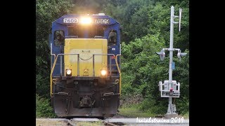 Download AC44C6M Duo on 22k, Pan Am Grain Train & POAY - Busy Morning on Pan Am Railways! 6-16-19 Video