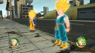 Download Dragon Ball Raging Blast 2 - Goten & Trunks vs Frieza, Cell, Buu, Broly & Hatchiyack Video