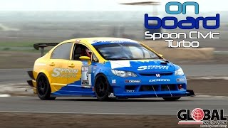 Download Fastest Spoon Civic Type R Turbo Unlimited Class Winner Global Time Attack - On Board Episode 1 Video