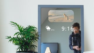 Download DIY Smart Mirror (that doesn't steam up!) Video