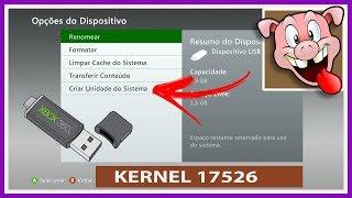 Download Como Criar uma Unidade do Sistema do Xbox 360 via USB no kernel 17526 ▪️ (nº1291) Video
