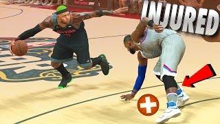 Download LeBron James Ankles BROKE & Injured In The All-Star Game - NBA 2K17 MyCareer Video