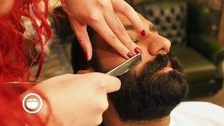 Download Super Dense Barbershop Beard Trim | Cut and Grind Video