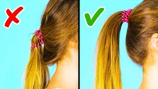 Download 20 COOL 1-MINUTE HAIRSTYLE HACKS Video
