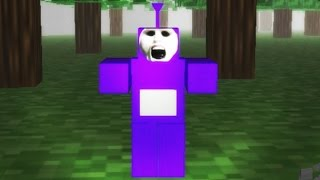 Download TINKY WINKY GETS ME GOOD | SLENDYTUBBIES 2 - TUBBYCRAFT MAP | 25 CUSTARDS Video