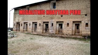 Download Megalithic Wonder At Huaytara Near Paracas Peru Video
