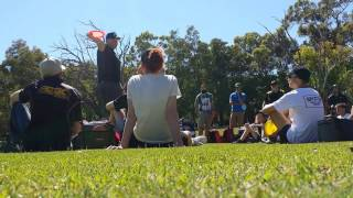 Download Avery Jenkins & Eagle Mcmahon disc golf driving clinic Video