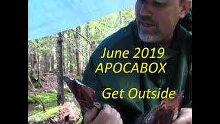 Download June 2019 APOCABOX , Get Outside Theme Video