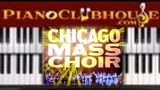 Download 🎹 GOD IS MY EVERYTHING - Chicago Mass Choir (easy gospel piano lesson tutorial) Video