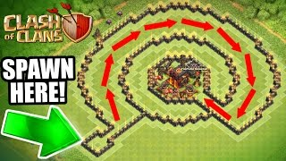 Download Clash Of Clans - INSANE ″NO NAME″ TROLL BASE!! - CAN IT BE BEATEN!?! Video