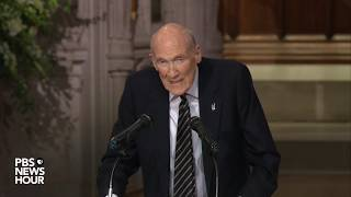 Download WATCH: George H.W. Bush was a class act from birth to death, says former Sen. Alan Simpson Video