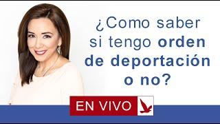 Download Como me entero si tengo orden de deportacion o no? Video