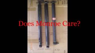 Download GP Monroe-KYB Shocks... JUNK ??? 7 1 16 Video