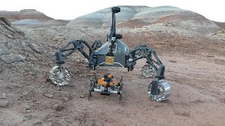Download Field Trials Utah: Robot team simulates Mars mission in Utah Video