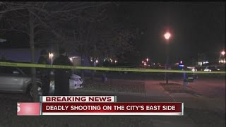 Download Man shot, killed on city's far east side Video