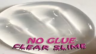 Download No Glue Clear Slime with Shampoo and Salt, How to make Clear Slime only 2 Ingridients Video
