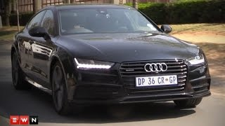 Download EWN in the Fast Lane: Audi A7 the Perfect boss car Video