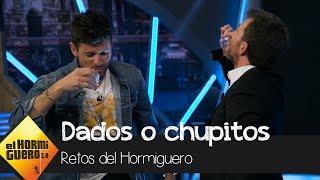 Download Pablo López y Pablo Motos se enfrentan en 'Dados o chupitos' - El Hormiguero 3.0 Video
