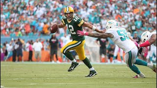 Download Green Bay at Miami ″Rodgers' Fake Spike″ (2014 Week 6) Green Bay's Greatest Games Video