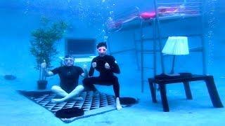 Download We Built An Entire Bedroom Underwater Video
