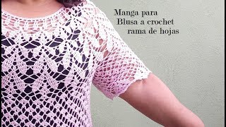 Download Manga para blusa rosa de hojitas Video