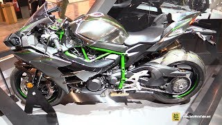 Download 2018 Kawasaki Ninja H2 - Walkaround - 2017 EICMA Milan Motorcycle Exhibition Video