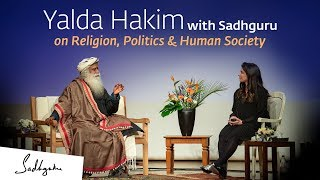 Download Yalda Hakim with Sadhguru on Religion, Politics & Human Society Video