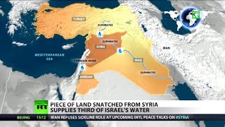 Download Water Wars: Land snatched from Syria supplies third of Israel's H2O Video